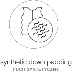 SYNTHETIC DOWN PADDING